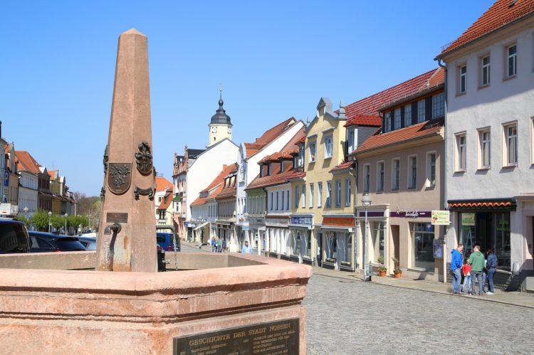 Nossen Marktplatz